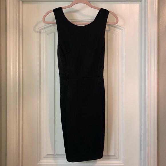Forever 21 Dresses & Skirts - Forever 21 Black Satin Cocktail Dress